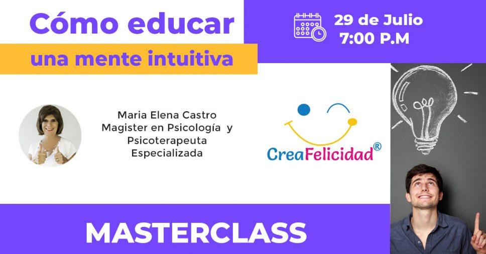 masterclass como educar intuitiva